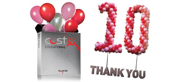 CostX Educational Program- 10 years