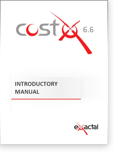 CostX Introductory Manual