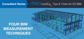 iTWO costX Four BIM Measurement Techniques